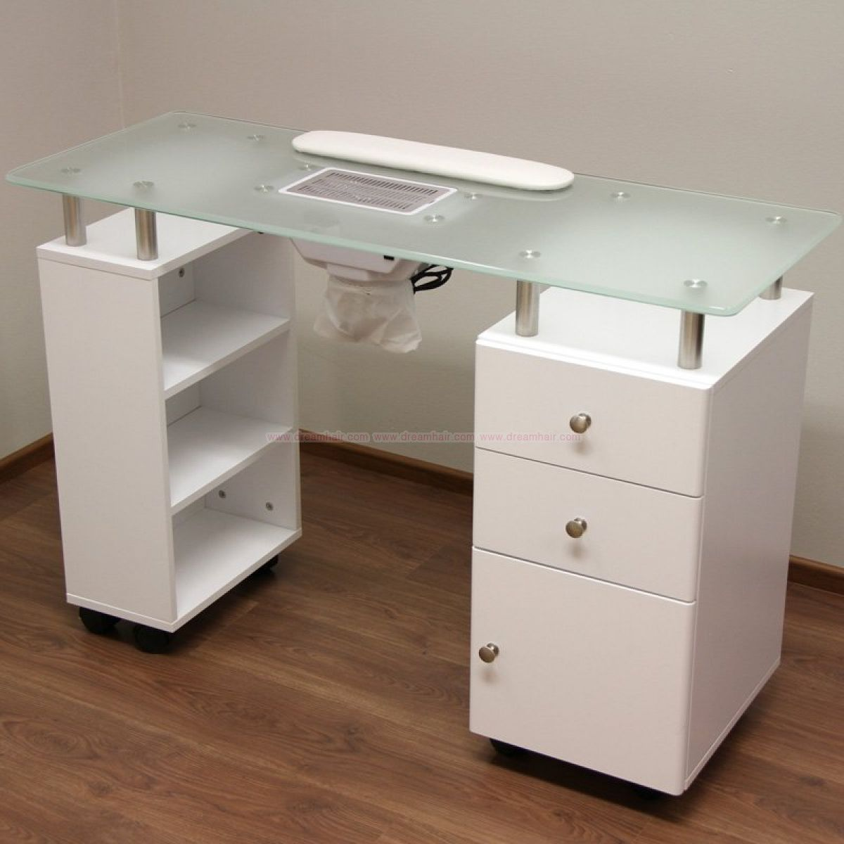 Manicure / Nail Art Table With Vacuum Cleaner - Nail Tables - Nail ...
