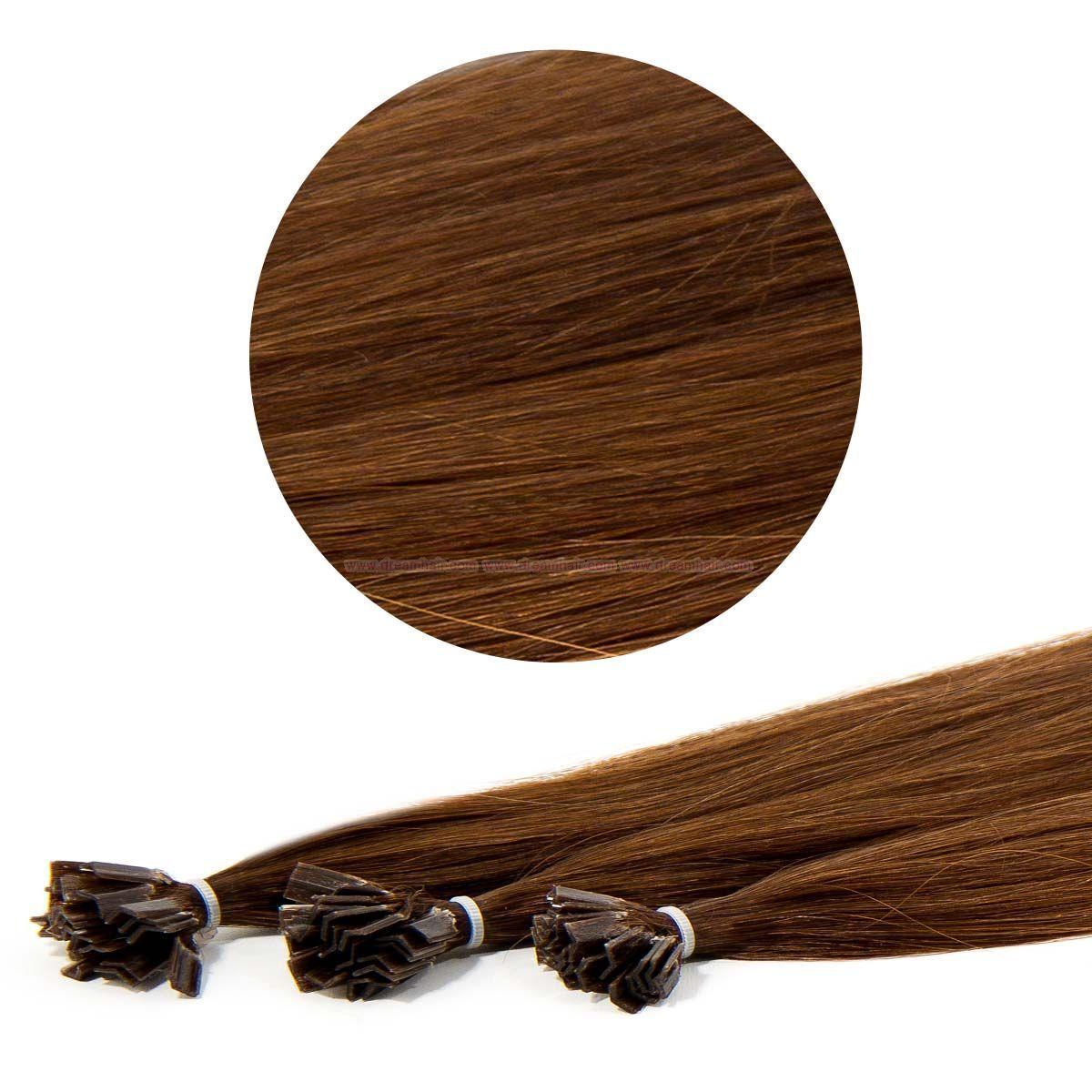 Nail Tip Hair Extension 30cm 25kpl 4 Nail Hair European 30cm