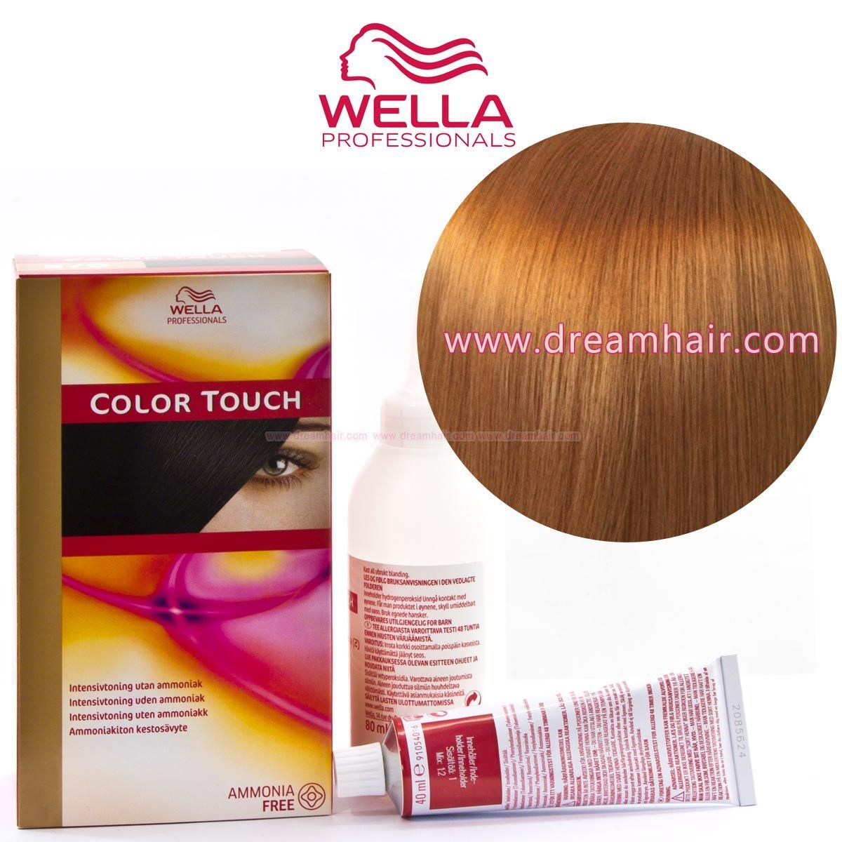 Wella Color Touch Demi Permanent Hair Color Home Kit 8/73