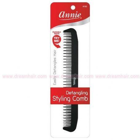 Detangling Styling Comb Black