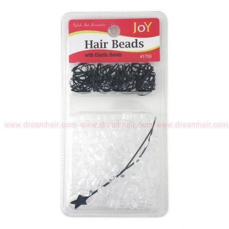 Hair Beads Clear