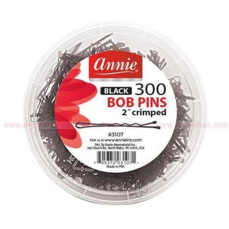 Bob pins black 300ct/jar 2
