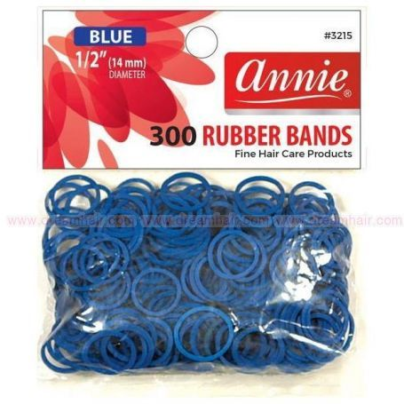 Rubber Bands Blue 300ct