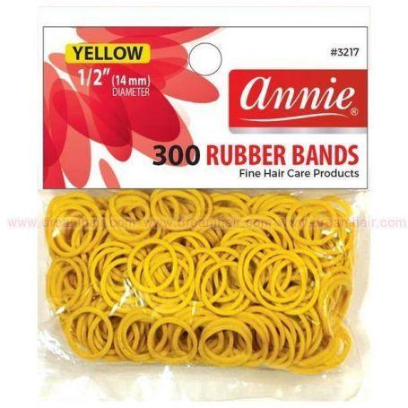 Rubber Bands Yellow 300pcs
