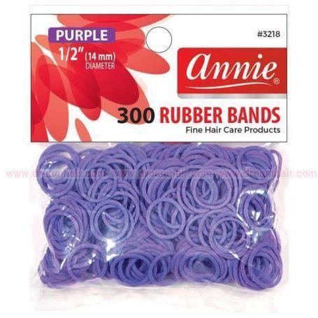 Rubber Bands Purple 300pcs