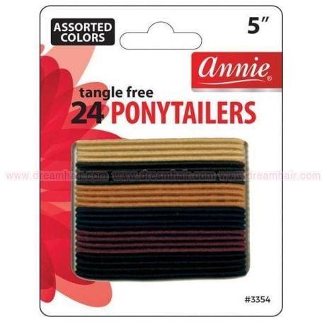 No Tangle Ponytailers (L) 24pcs