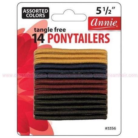 Ponytailers Asst 14pcs