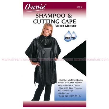 Shampoocutting Cape Black