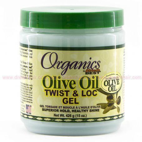 Africa's Best Organics Olive Oil Twist and Loc Gel 426g