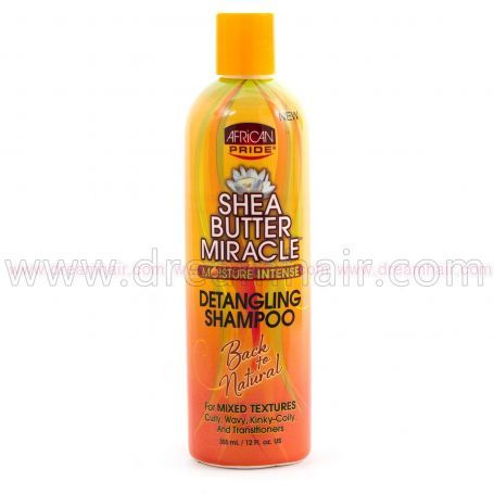 African Pride Shea Butter Miracle Detangling Shampoo 355ml
