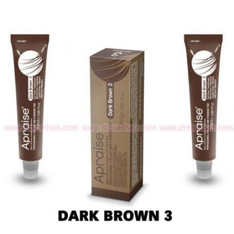 Apraise Eyelash and Eyebrow Tint Dark Brown 3#