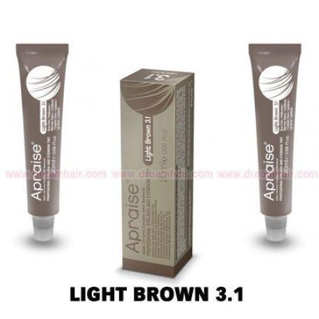 Apraise Eyelash and Eyebrow Tint Light Brown 3.1#