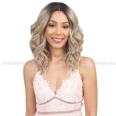 Bobbi Boss Lace Front Wig Miriam MLF315 TT1B/A.BLD#