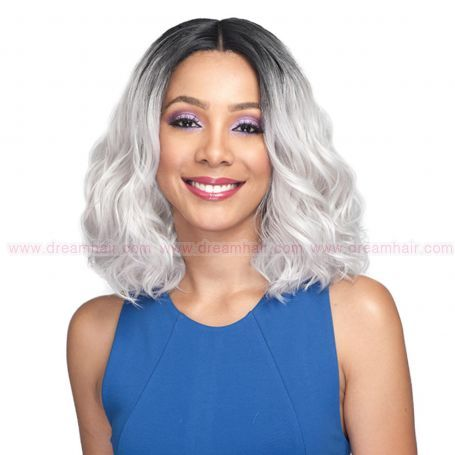Bobbi Boss Lace Front Wig MLF160 Lacina TT1B/GREY#
