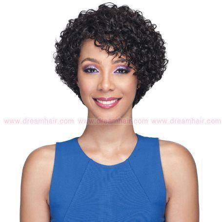 Bobbi Boss Premium Human Hair Wig MH1267 Georgia Natural Color