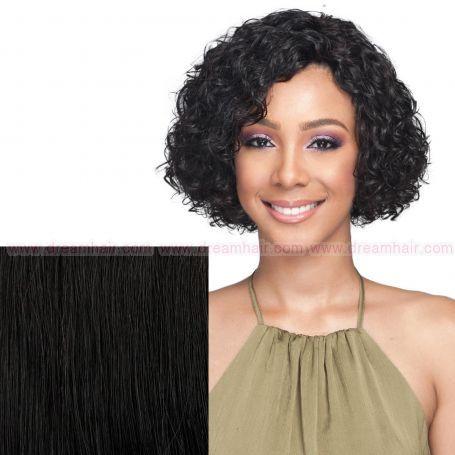 Bobbi Boss Premium Human Hair Wig MH1268 Dedra Natural Color