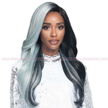 Bobbi Boss Lace Front Wig MLF386 Ophelia TTS1B/PTBL#