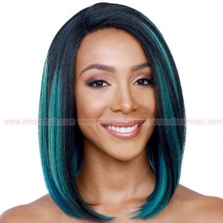 Bobbi Boss Lace Front MLF74 Copper TF1B/Green