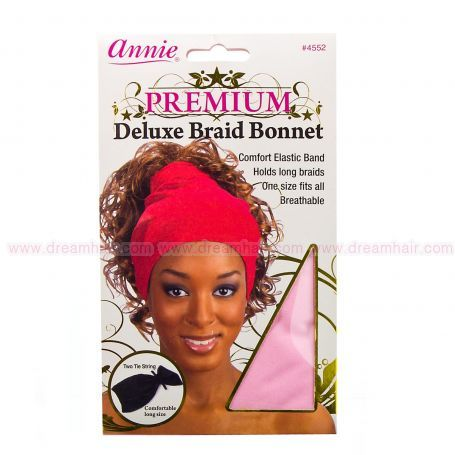 Deluxe Braid Bonnet Pink