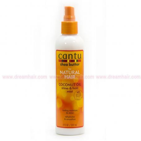 Cantu SB Natural Coconut Oil Shine And Hold Mist 237ml
