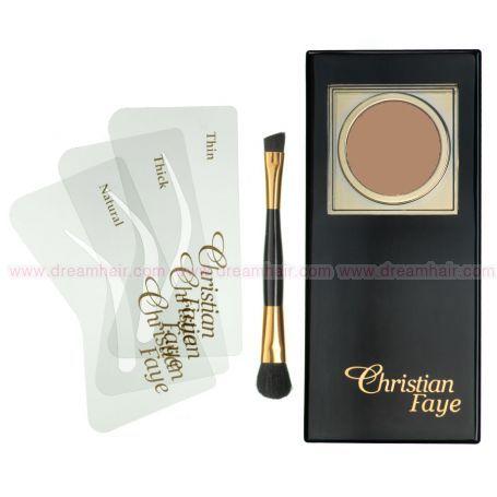 Christian Faye Eyebrow Kit CF62 Dark Brown