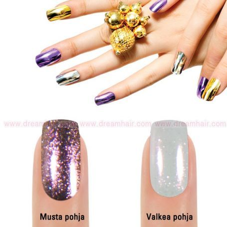 Mirror Chrome Powder Purple 681#