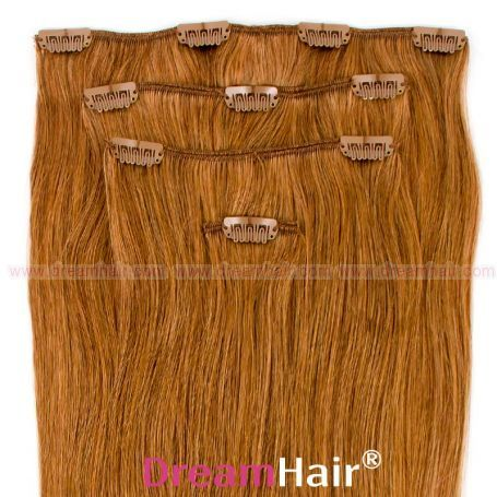 Clip-In Hair Extension 4pcs 60cm 12#