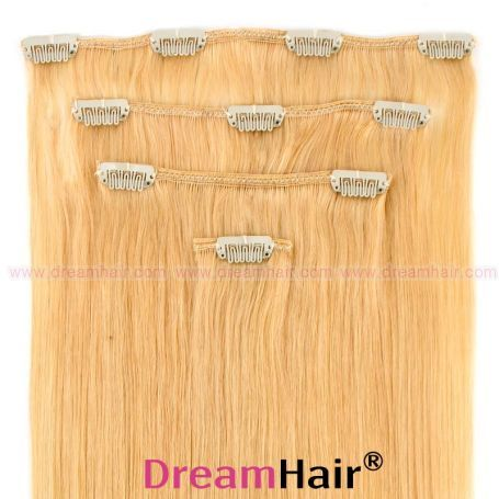Clip-In Hair Extension 4pcs 40cm 24#