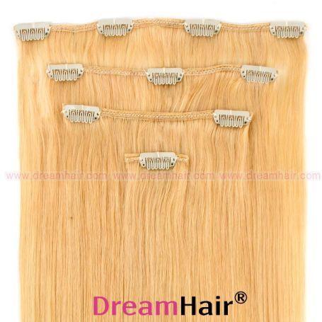 Clip-In Hair Extension 4pcs 60cm 24#