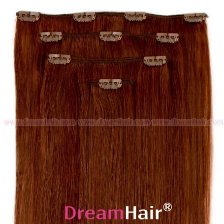 Clip-In Hair Extension 4pcs 40cm 33#