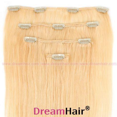 Clip-In Hair Extension 4pcs 40cm 613#