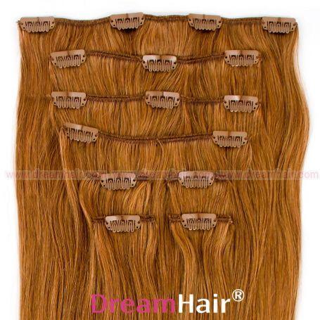 Clip-In Hair Extension 8pcs 50cm 12#
