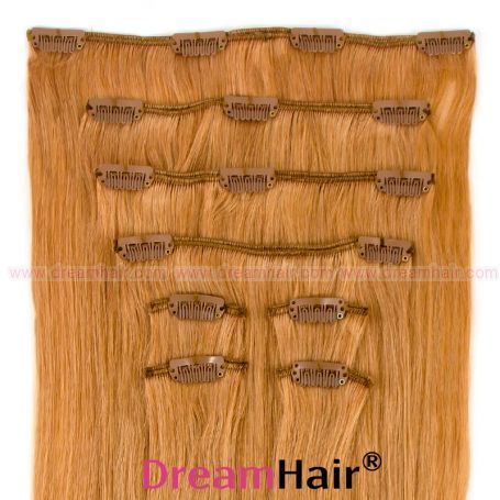 Clip-In Hair Extension 8pcs 40cm 16#