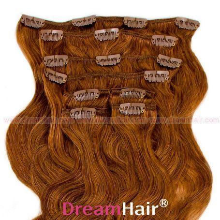 Clip-In Hair Extension 8pcs Wave 60cm 8#