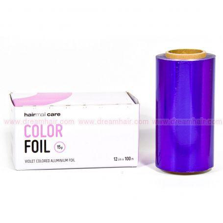 Color Aluminium Foil 100m Violet
