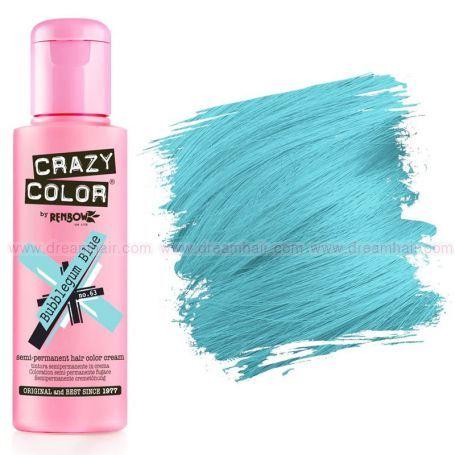 Crazy Color Bubblegum Blue #63