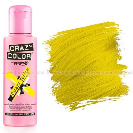 Crazy Color Canary Yellow #49