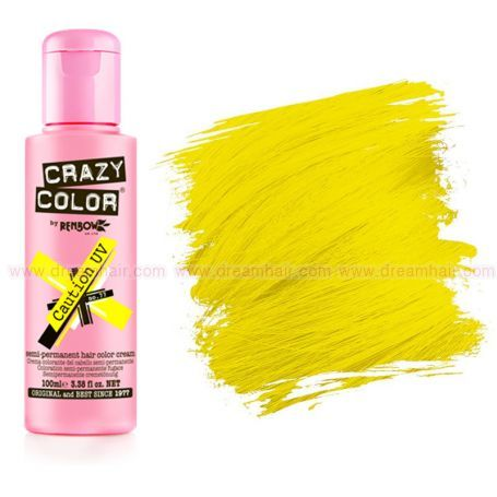 Crazy Color Neon UV Caution 77