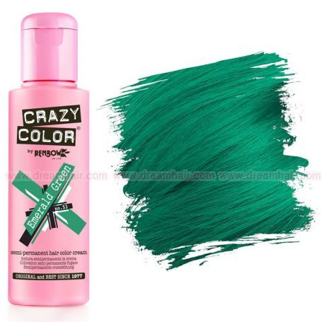 Crazy Color Emerald Green #53