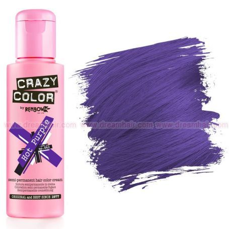 Crazy Color Hot Purple #62