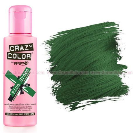 Crazy Color Pine Green #46