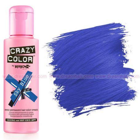Crazy Color Sky Blue #59