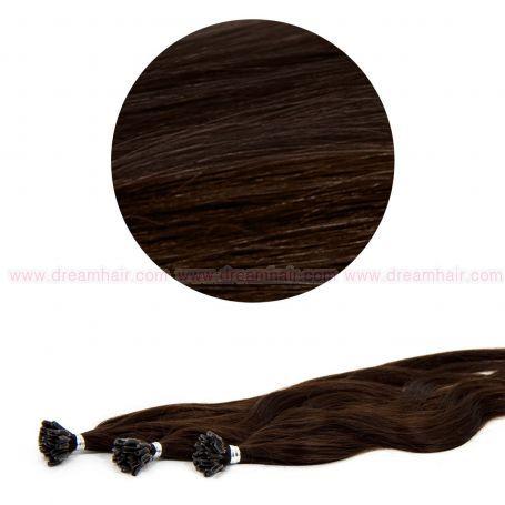 Nail Tip Hair Extension L-Wave 40cm 25kpl 2#
