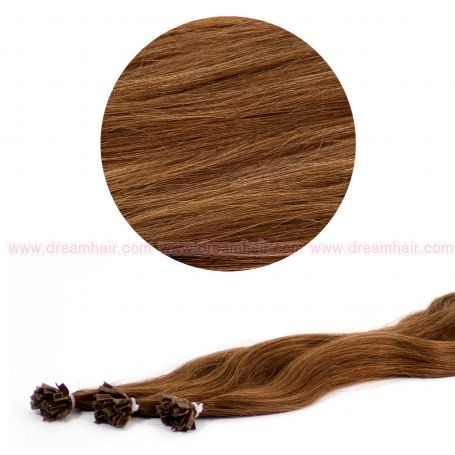 Nail Tip Hair Extension L-Wave 40cm 25kpl 6#