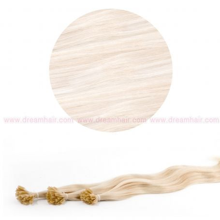 Nail Tip Hair Extension L-Wave 40cm 25kpl 60#