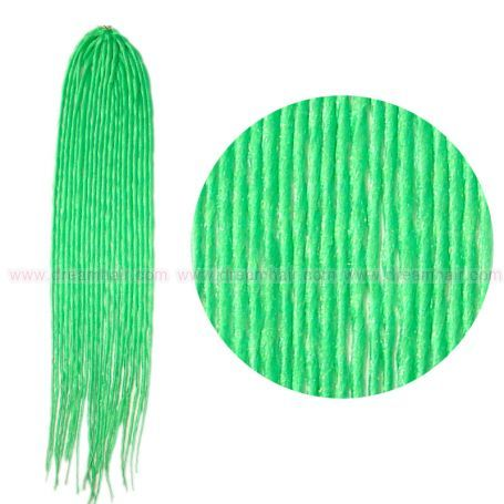 Dreadlock Neon Green
