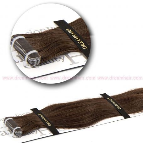 DreamHair Slavic Tape-In Extension 40cm 6#