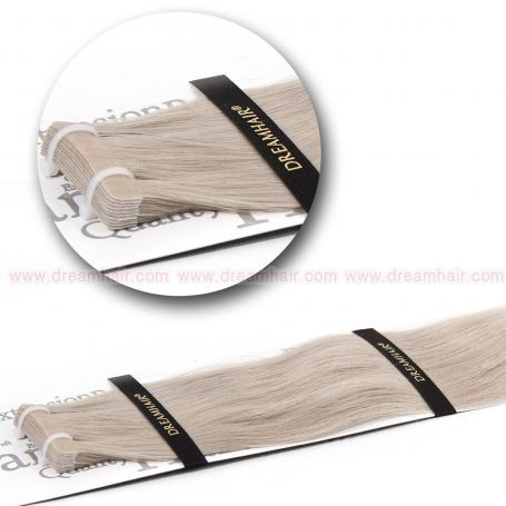 DreamHair Slavic Tape-In Extension 40cm SILVER#