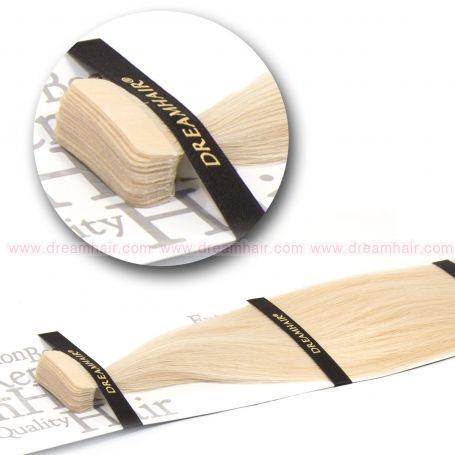 DreamHair Slavic Tape-In Extension 40cm / 20pcs / 24#
