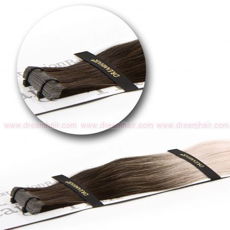 DreamHair Slavic Tape-In Extension Ombre 40cm 4/24#